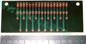 Печатная плата под 3 трёхразрядных индикатора (E30361, TOT3361, МТ30361)
