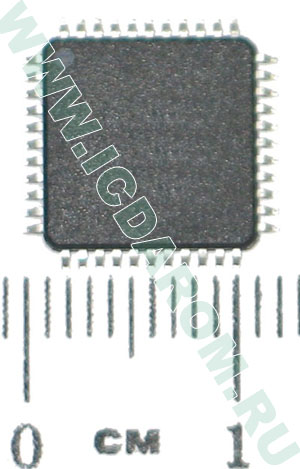AT89S51-24AU/ATMEL/TQFP44/