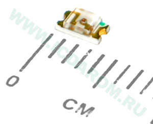 BL-HE1G033-TRB/BRI//1206 3.2X1.6MM SMD/